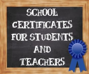 Free School Certificate Templates | Back to School