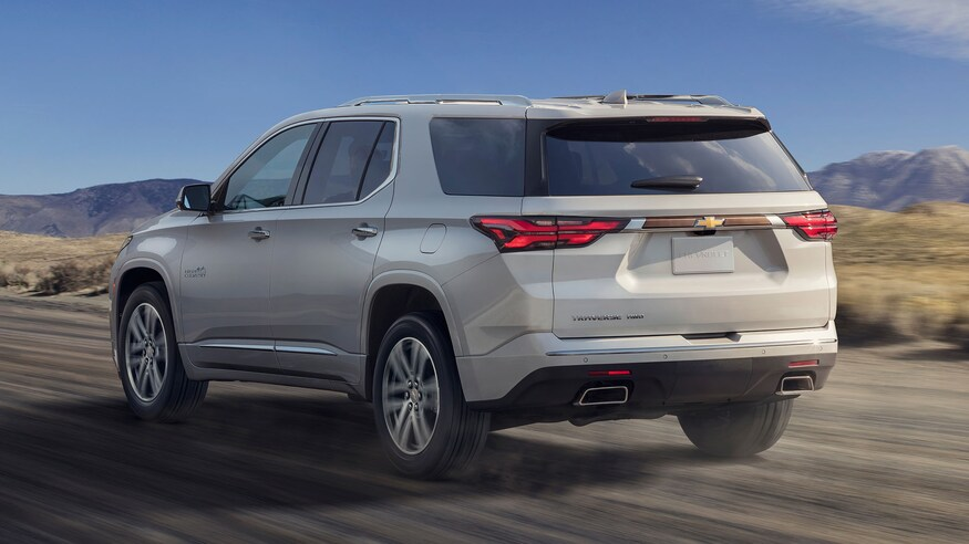 2021 Chevrolet Traverse First Look At The Big Three Row S New Look Trong 2020