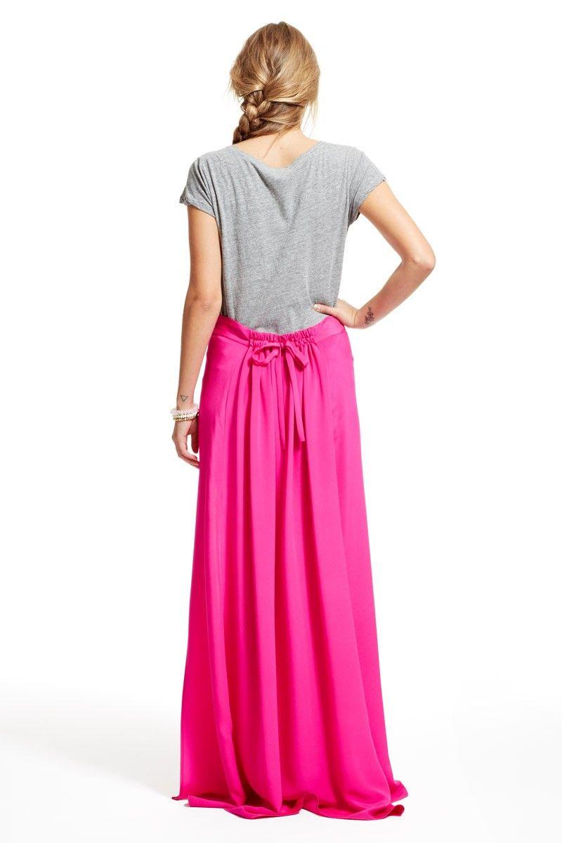 Calypso St. Barth Brava Silk Maxi Skirt   Fashion   Pinterest