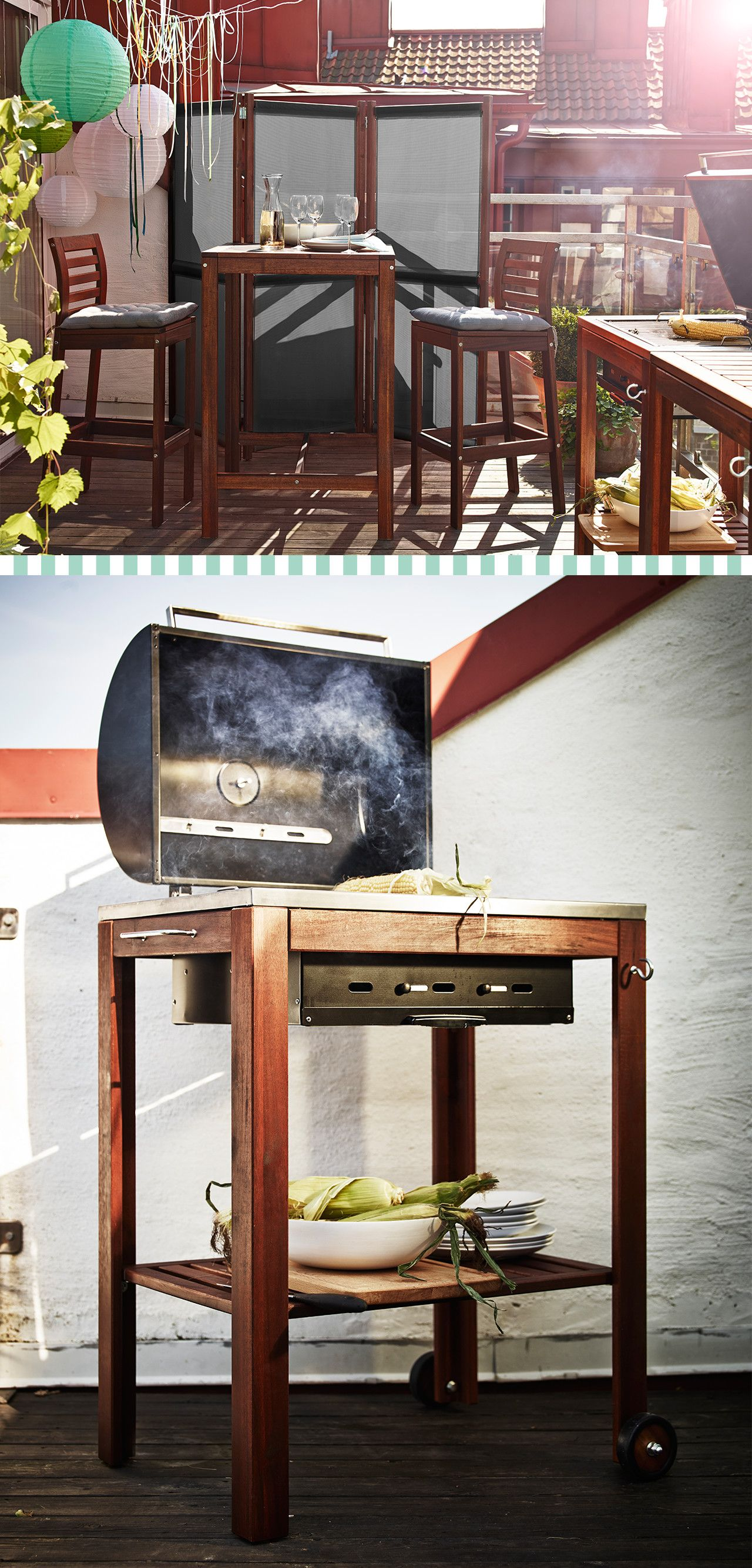 snap! our ÄpplarÖ furniture series lets you match your barbecue to