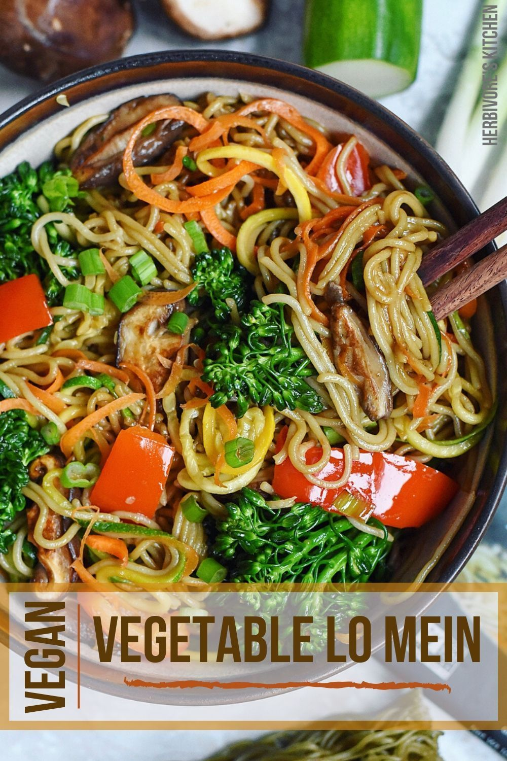 Vegetable Lo Mein The Ultimate Vegan Chinese Food Recipe In 2020 Vegan Chinese Food Gluten Free Chinese Food Vegan Chinese