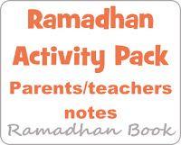 Umm Maimoonah's Journal: Ramadhaan Activity Packs - 2012