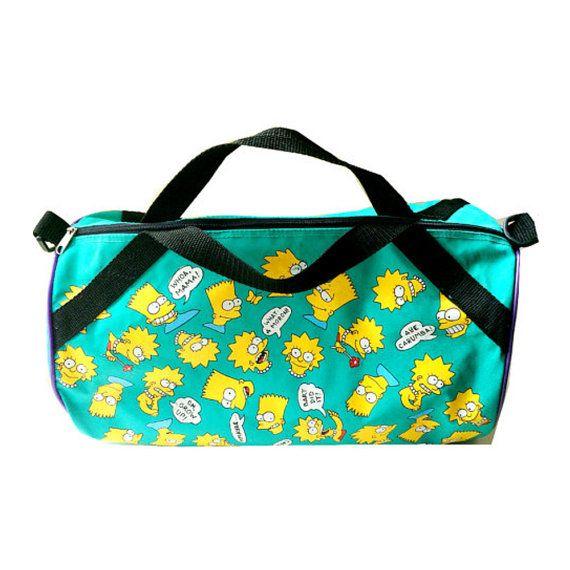 The Simpsons Duffle Bag 90 S Bart