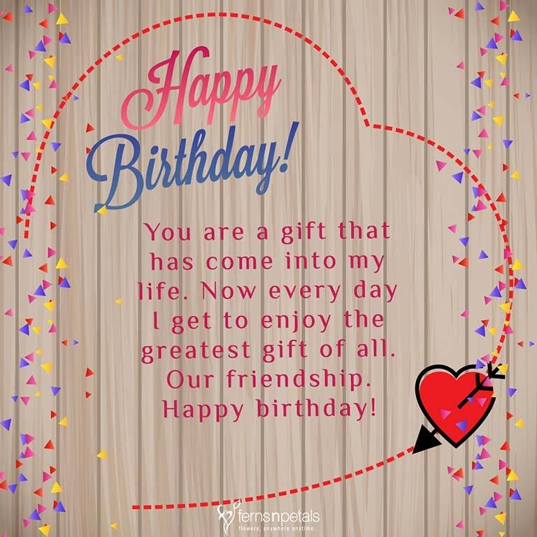 30 Best Happy Birthday Wishes Quotes Messages Ferns N Petals Happy Birthday Friend Happy Birthday Quotes For Friends Happy Birthday Wishes Quotes