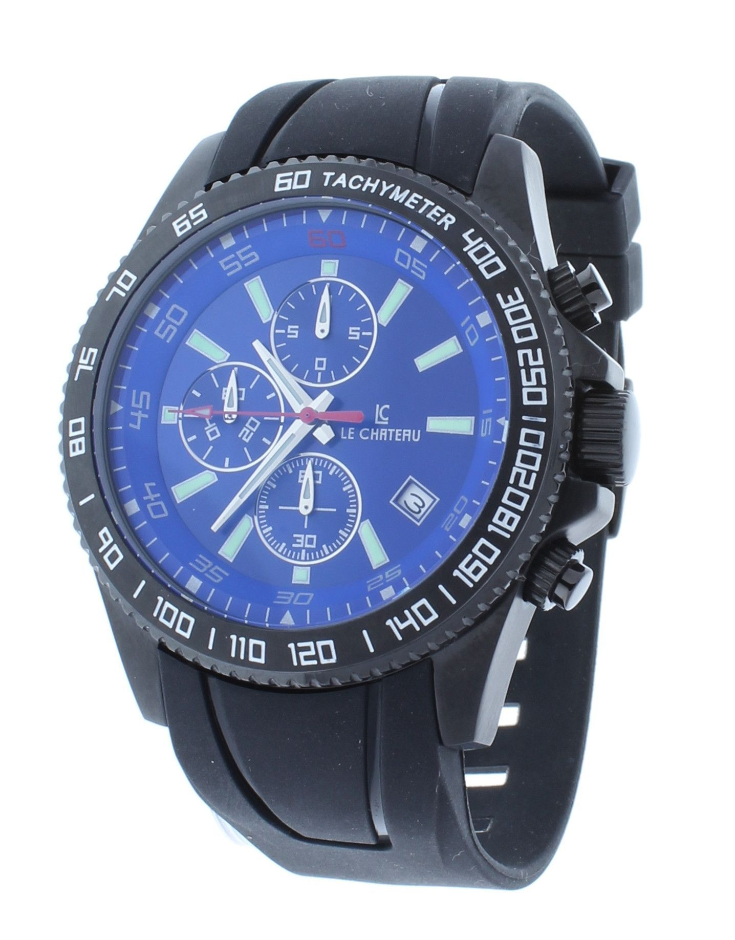 s steiner swiss watches multifunction tachymeter tone pin quartz bracelet men watch august silver