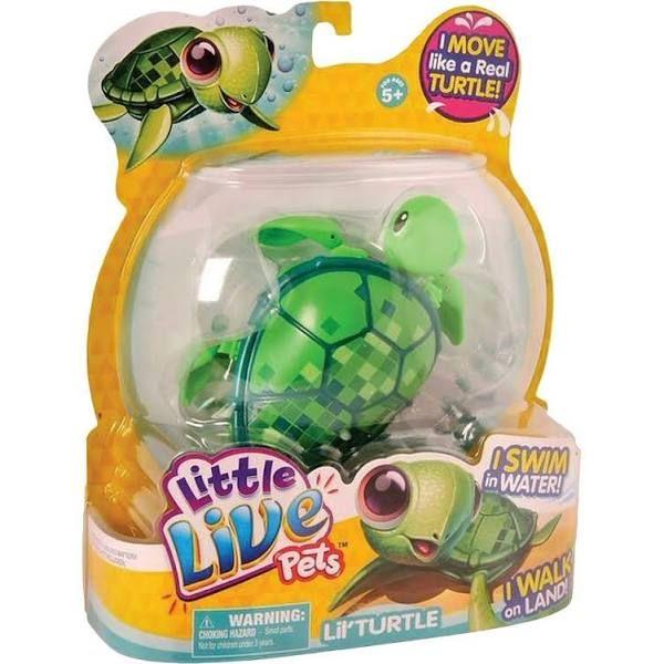 Little Live Pets Turtle Little Live Pets Pet Turtle Pet Toys