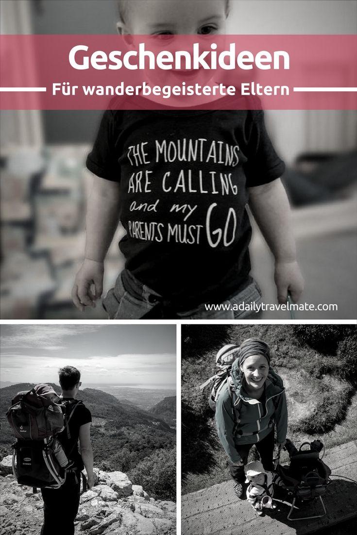 Geschenkideen für Wanderer bzw. wanderbegeisterte Eltern | Pinterest ...