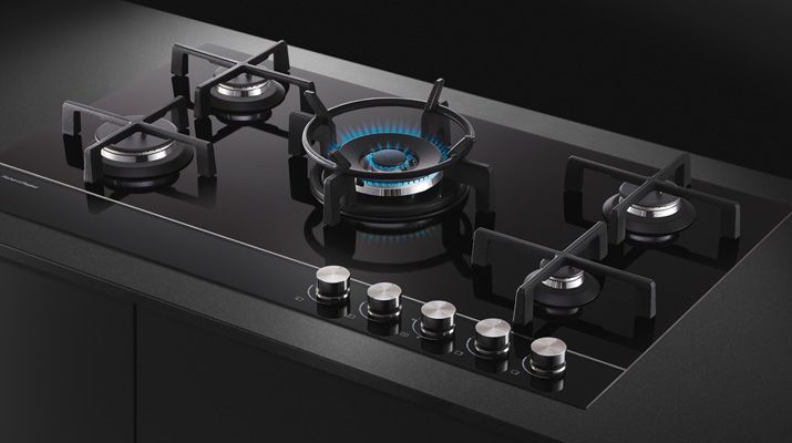 The Beautiful Fisher U0026 Paykel Glass Gas Cooktop In Action, Kitchen, Cooking,