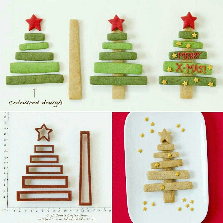 This Cookie Christmas Tree Building Kit is now available in our Etsy