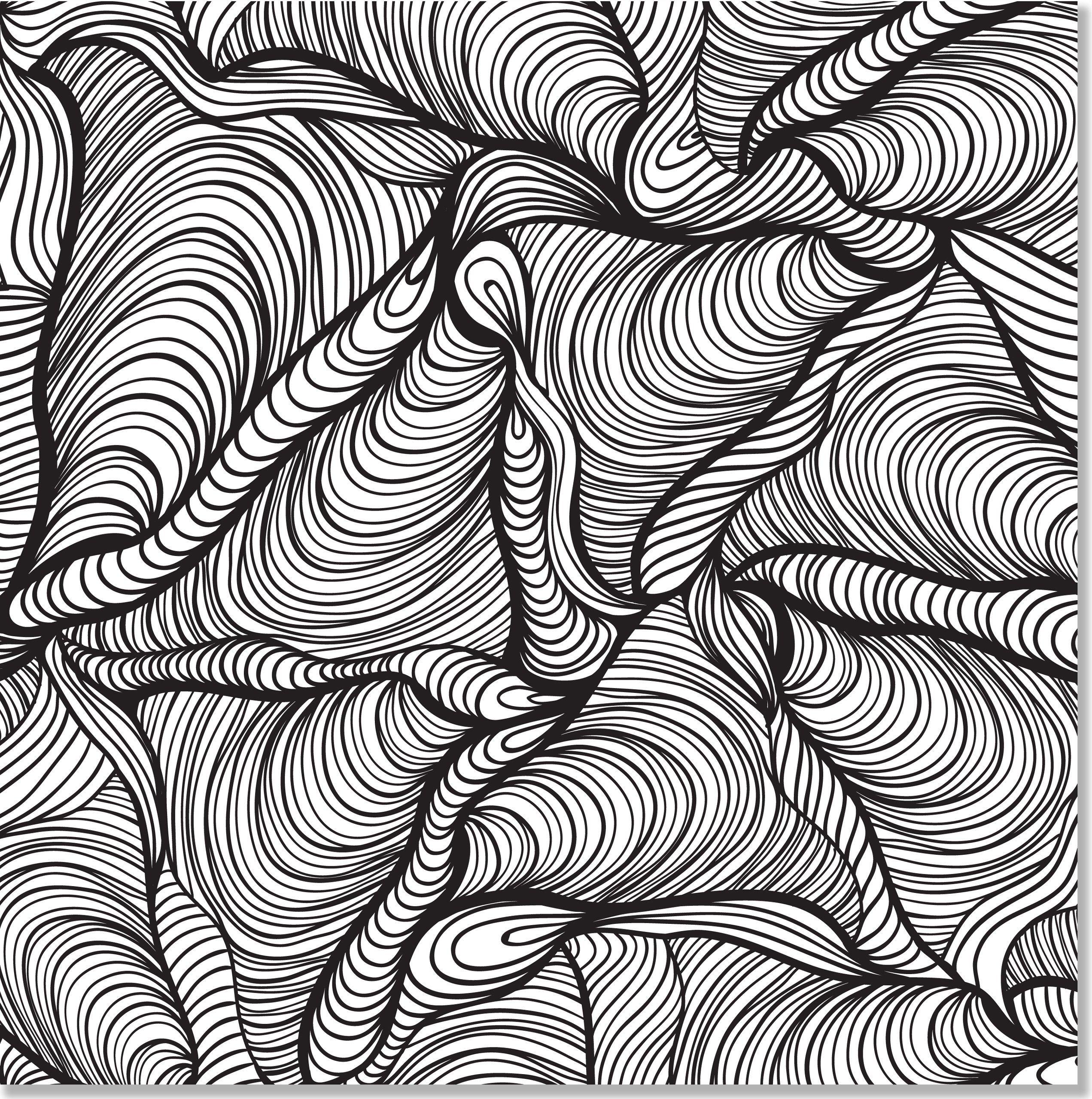 amazon com doodle designs coloring book 31 stress