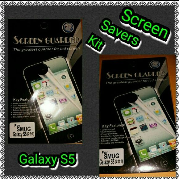 SCREEN SAVER Screen saver for galaxy s5, brand new Samsung  Accessories Phone Cases