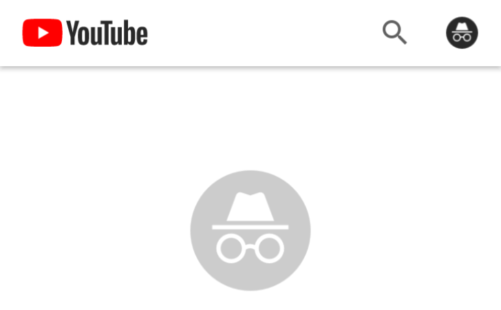 Youtube Is Testing An Incognito Mode In Its Android App In 2020 Youtube Incognito Android Apps