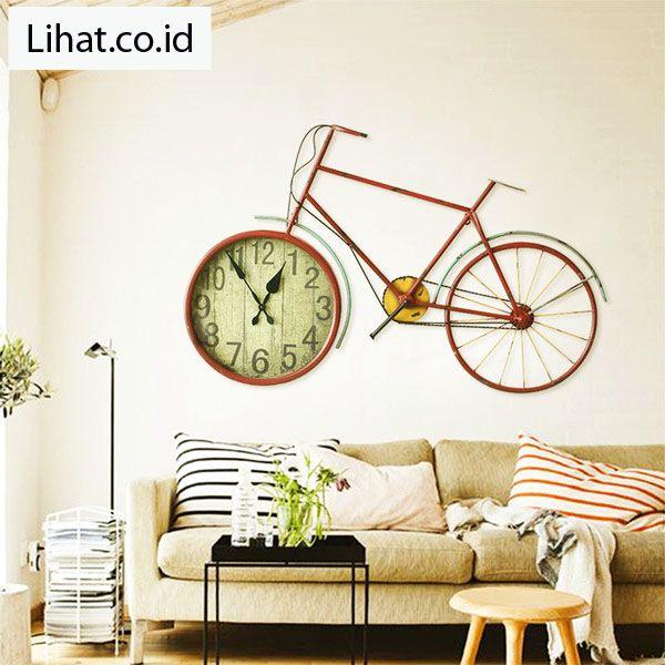 10 Desain Jam Dinding Unik Untuk Ruang Tamu Minimalis Diy