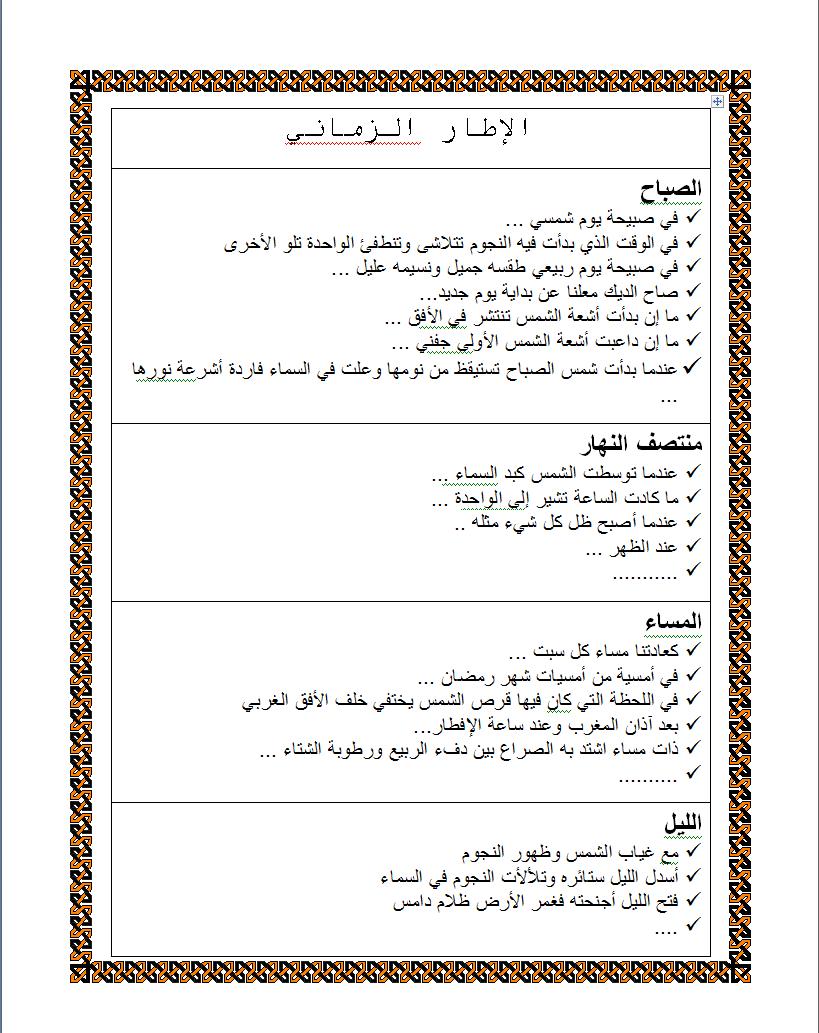 كراس العبارات الجميلة للإنتاج الكتابي Education Arabic Worksheets Blog Posts