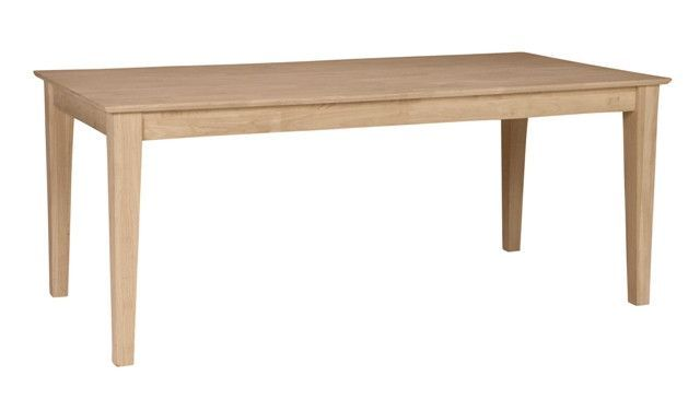 Solid Top Hardwood Shaker Dining Table 36 X 72 Dining Table
