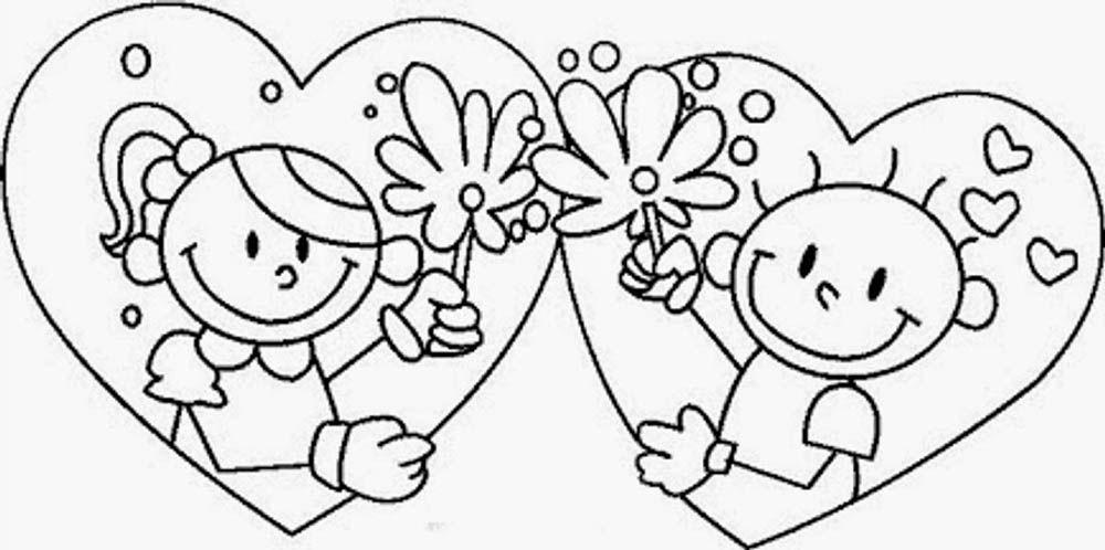 Imagen De 14 De Febrero Enamorados Novios En Corazon Con Flores Dibujos De San Valentin Tarjetas De San Valentin Para Ninos Tarjetas De Ninos