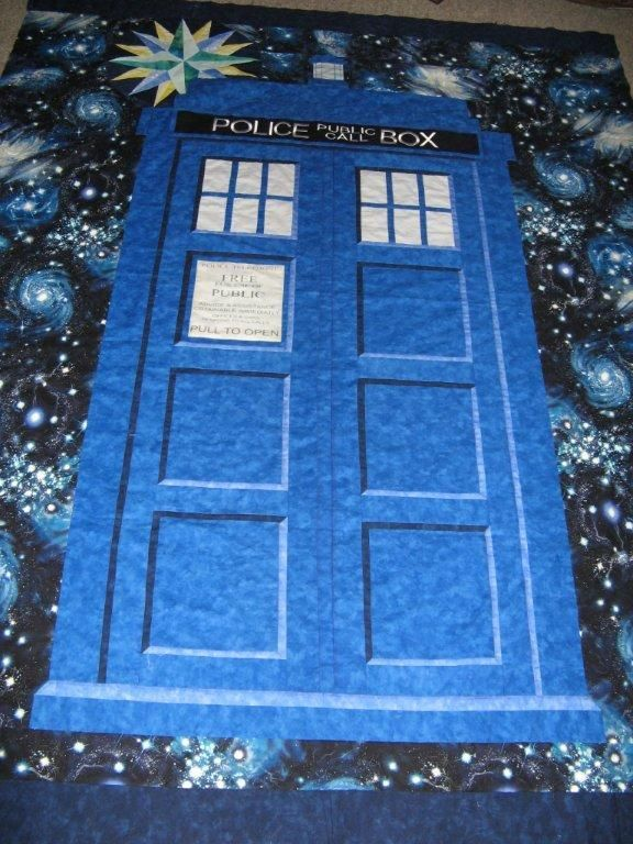 Doctor Who Tardis Quilt. a future project | tardis quilt ... : doctor who quilting fabric - Adamdwight.com