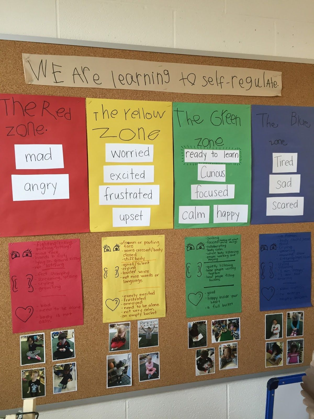 The Zones Of Regulation In Room 122
