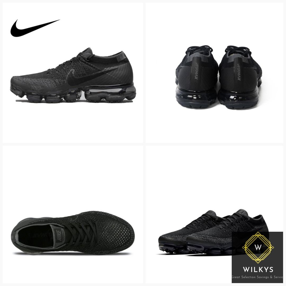 8dfbfd23f6e9e5 Original Official Nike Air VaporMax Be True Flyknit Breathable Running  Shoes for Men Outdoor Sports Low