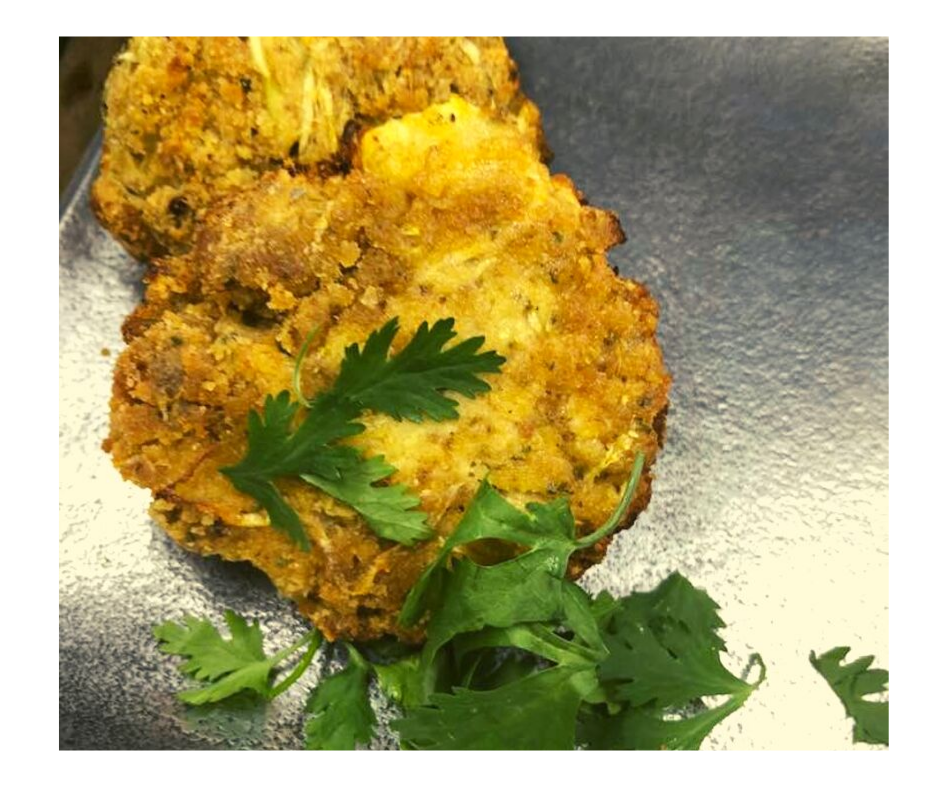 Air Fryer, Zucchini Fritters Fork To Spoon Recipe in