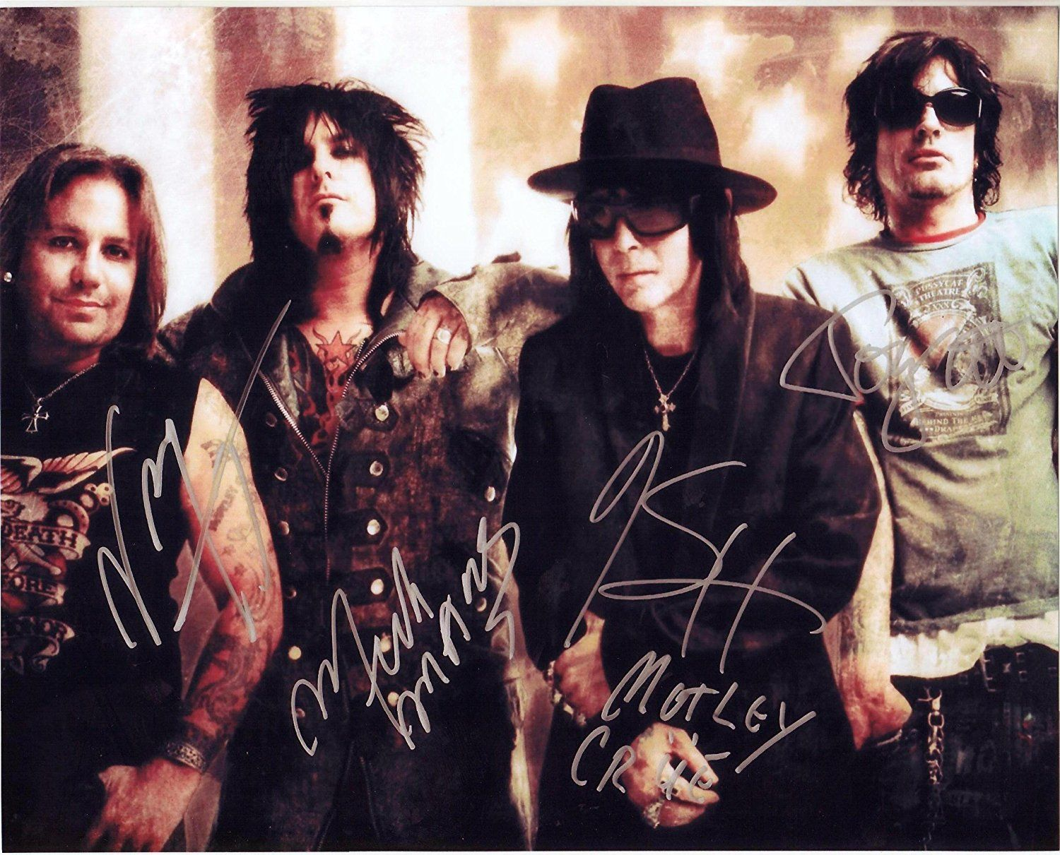 Tommy Lee Motley Crue Signed 8x10 Autographed Photo Reprint