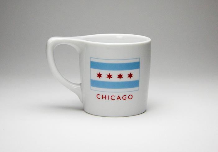 Chicago Flag Filter Mug