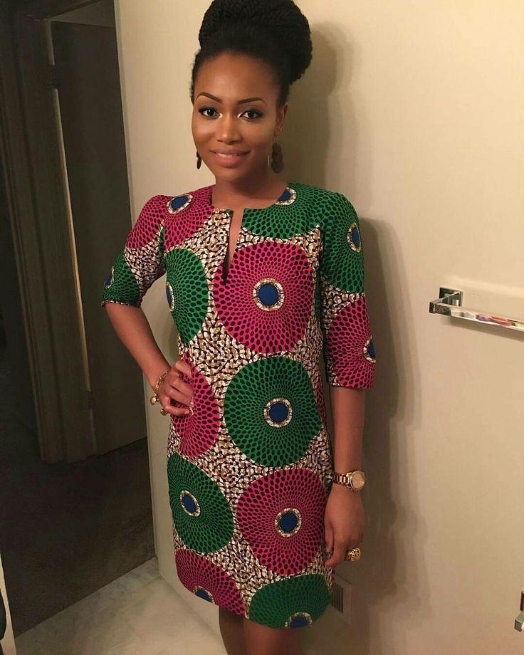 Resultado de imagem para fashionable african dresses #afrikanischekleider