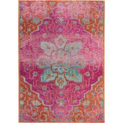 Photo of benuta Teppich Casa Orange 140×200 cm – Vintage Teppich im Used-Look benuta