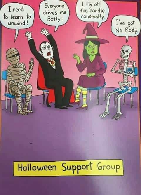 Halloween Support Group | Mental Health Counseling ...