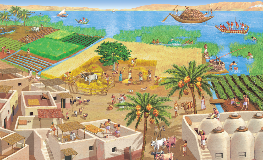 how the nile form ancient egypt Ancient egyptian wall paintings provide a fascinating glimpse into the past  it  was thought to be what the gods' bones were made from  carbonate) and  represented the heavens, vegetation, youth, water and the nile river.