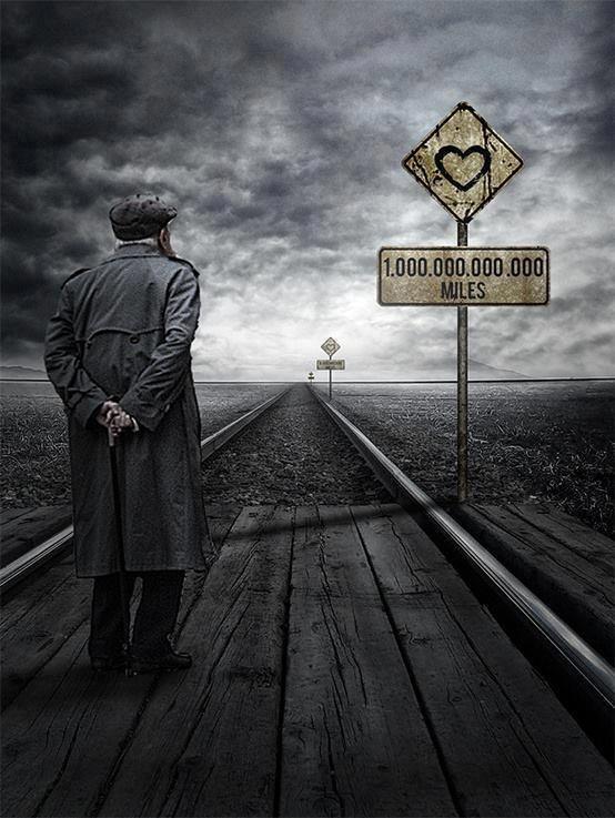 'Long way away' – Photomanipulation by Andrei Oprinca