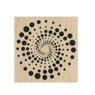 Galaxy Spiral Rubber Stamp for DIY invitations