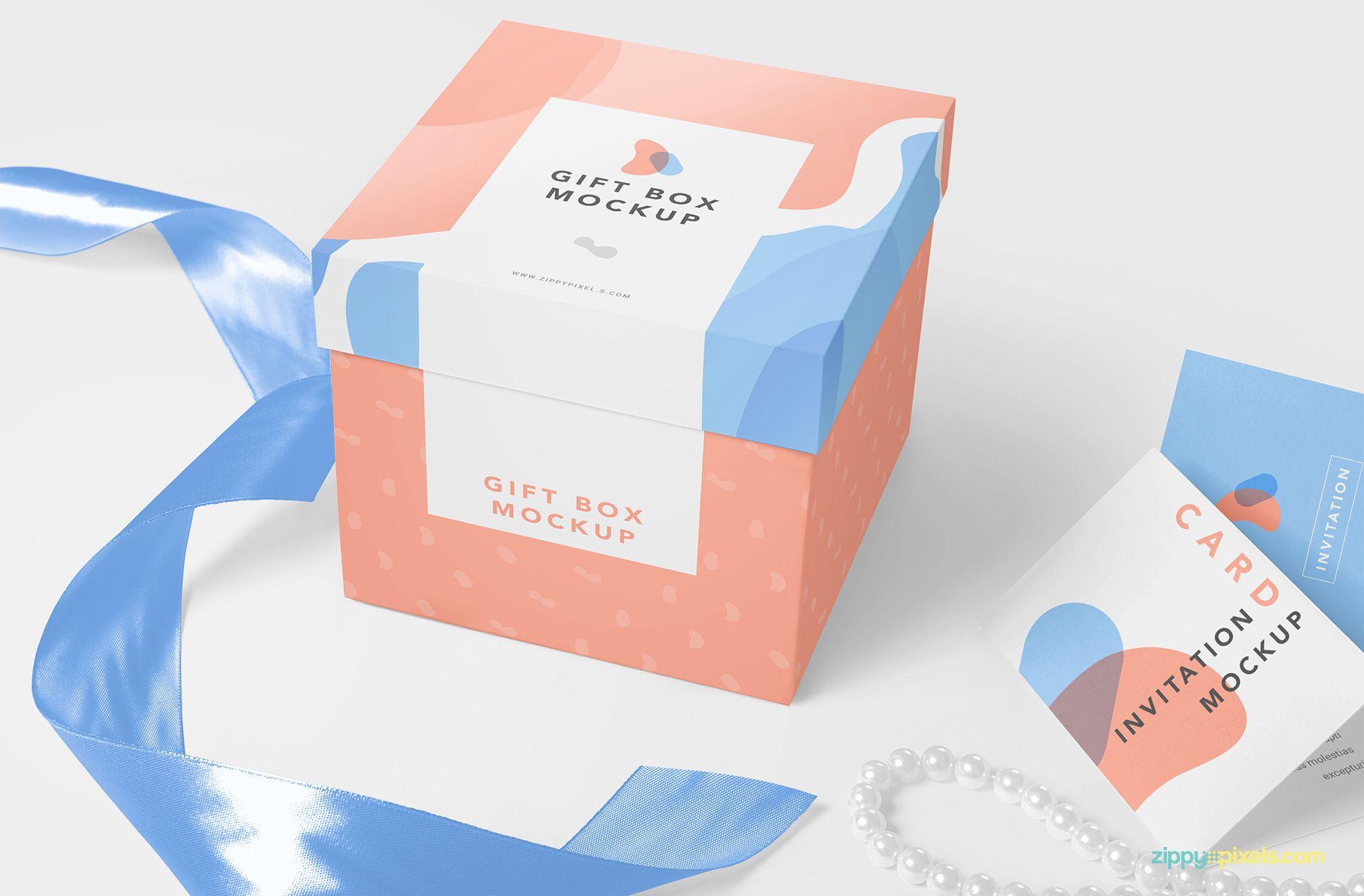 Download Free Luxury Gift Mockup Zippypixels Box Mockup Packaging Mockup Free Packaging Mockup