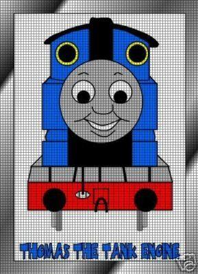 Thomas The Tank Engine Crochet Pattern Knitting