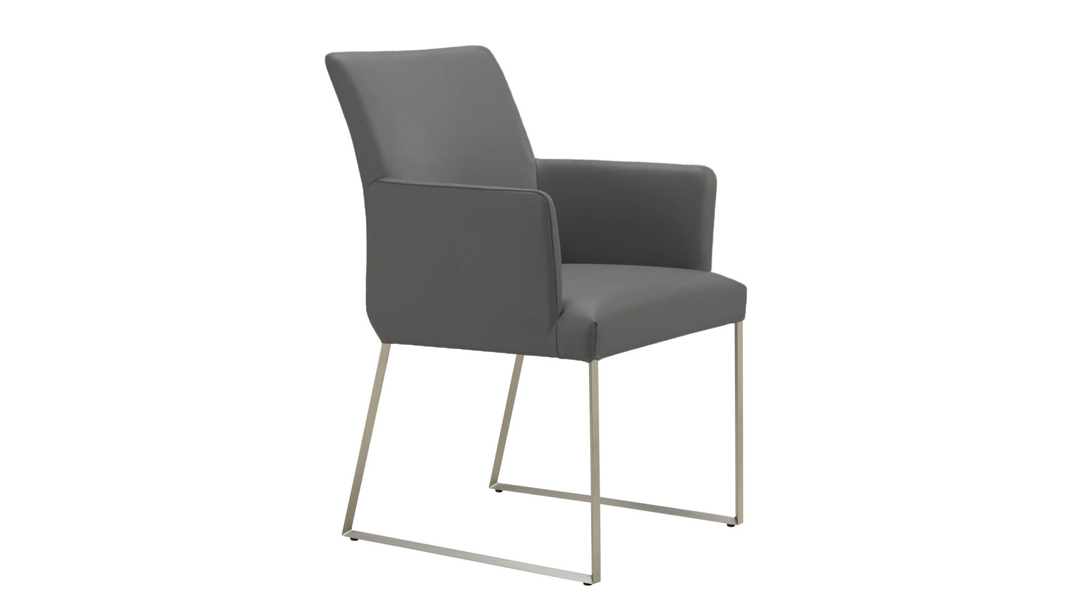 Monti Real Leather Armchair  Real Leather Dining Chairs And Fair Leather Dining Room Chairs With Arms Design Ideas