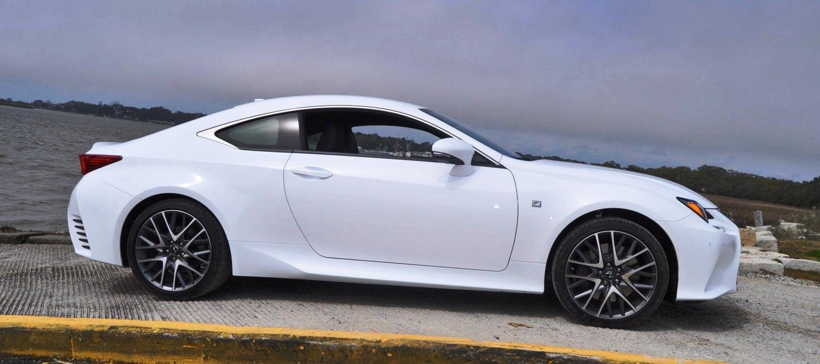 2017 Lexus Rc350 F Sport Review White Cars Future Car Automobile