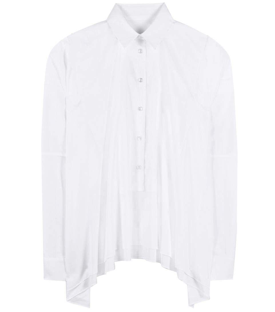MAISON MARGIELA Cotton Blouse. #maisonmargiela #cloth #tops