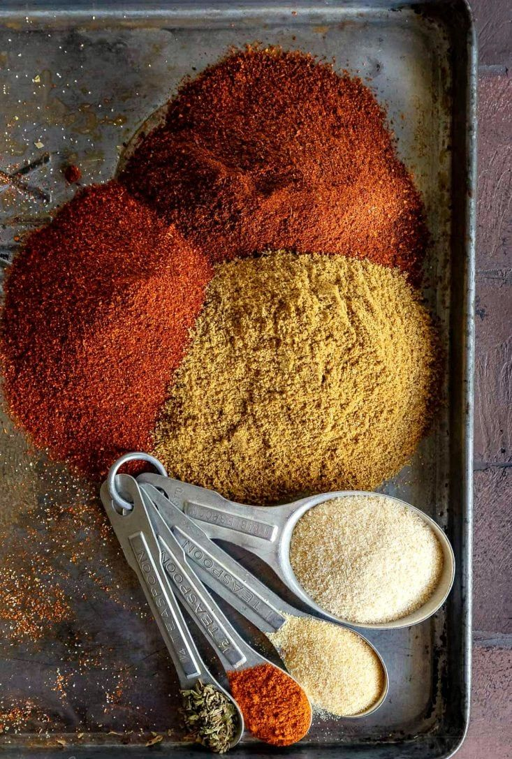 The BEST Taco Seasoning Recipe Made EASY! - Mom On Timeout