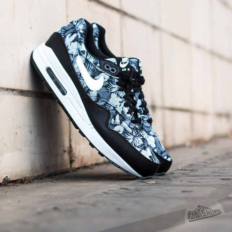 Nike Air Max 1 GPX Black White-Dark Grey - Footshop  5801b9cd0b