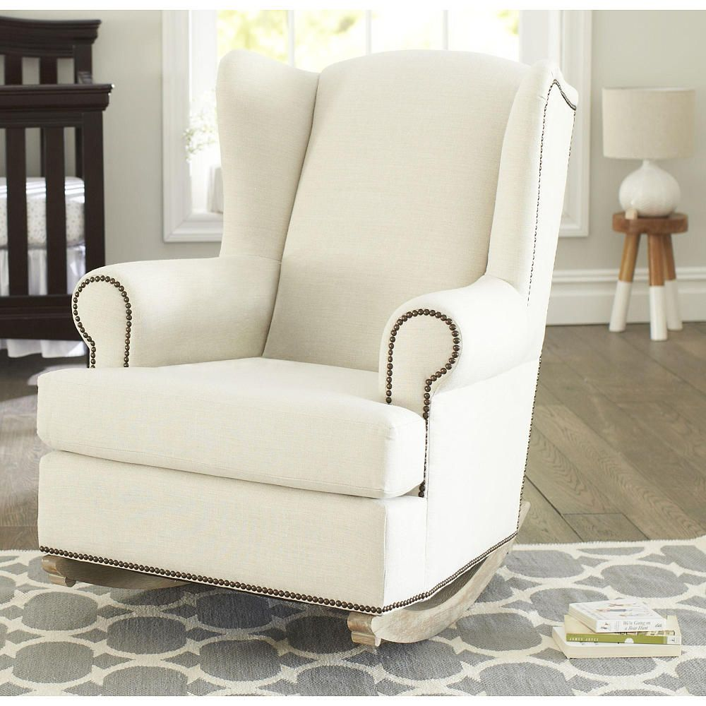 Shermag Deluxe Mckinley Rocker Chair Driftwood Finish