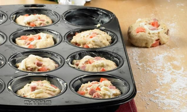 Muffins Pizzaiolo                              -                                  -