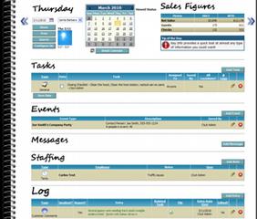restaurant manager log book template mẫu cần làm trong 2018