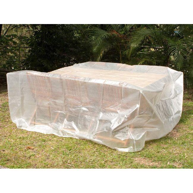 housse de protection table de jardin | polyéthylène, table de