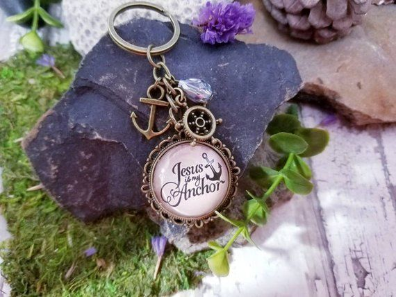 Jesus Keychain Christian Themed Gifts For Guy Or Girl Religious Birthday Gift Friend