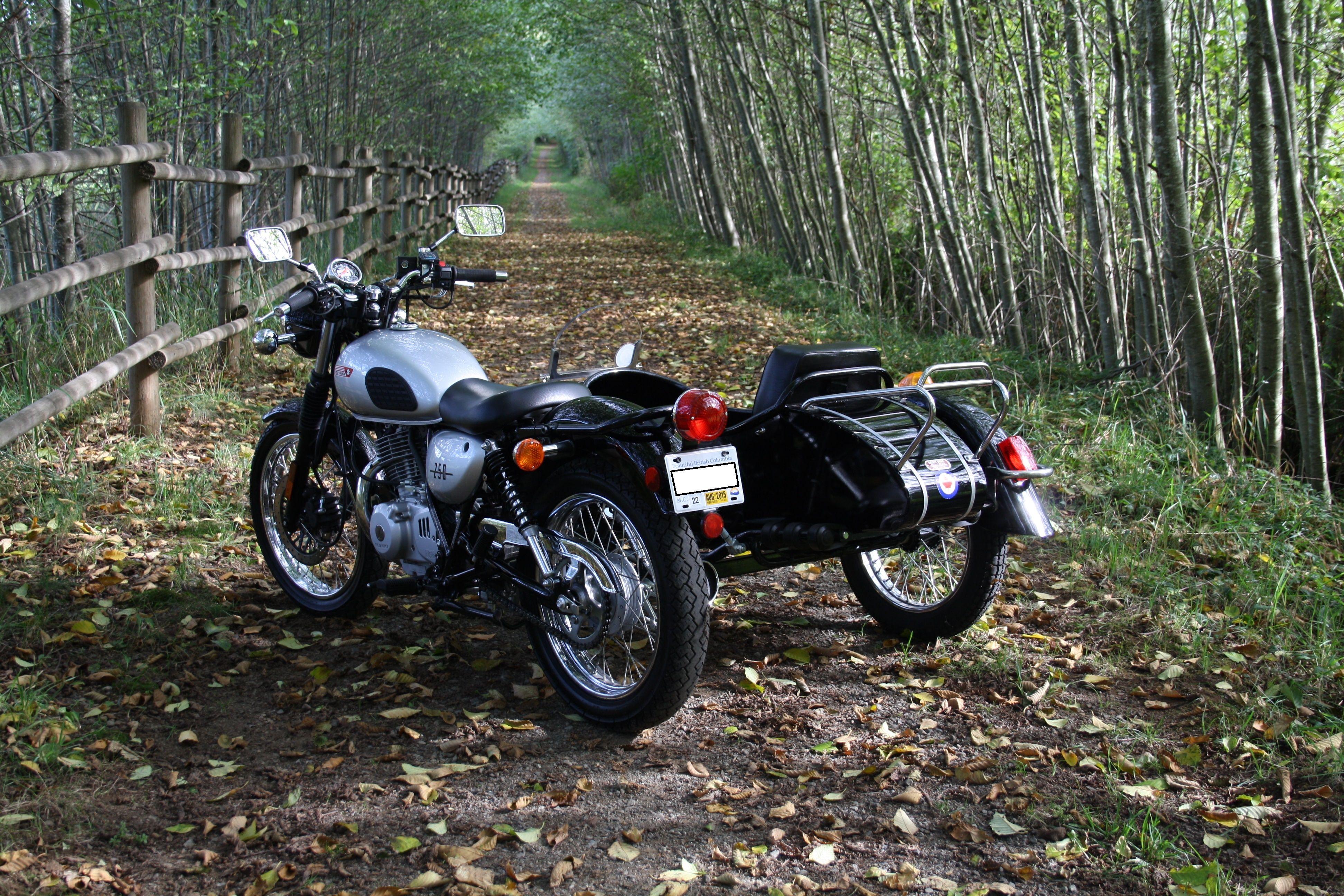 Suzuki TU250X and Cozy sidecar - a perfect match  | Sidecar