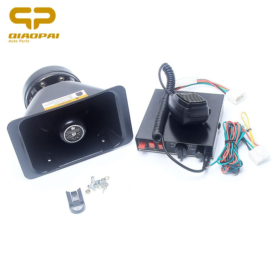 8 Tone Electric Horn Car Light Controlled Switch 12v 200w Police Ford Excursion Wiring Siren Speaker Alarm Multi