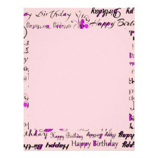 290626b17335989f0865b591add73bce Template Birthday Letter Book on