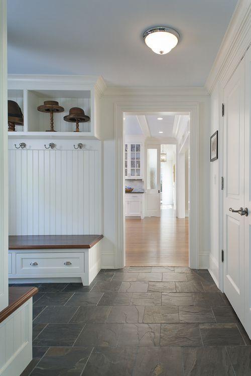 Attractive Mudroom Floor #4: Mudroom Floor, Benches