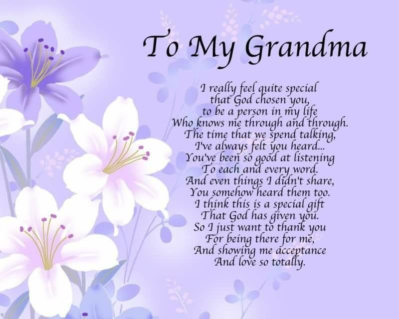 Pin by Emily Rawlins on Missing you poems Grandma
