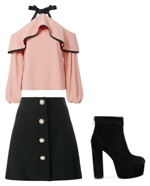 """Dress up"" by melinamaggiore on Polyvore featuring Miu Miu and Alexis"